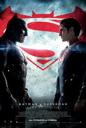 locandina di Batman v Superman: Dawn of Justice