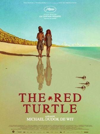 locandina di La tartaruga rossa