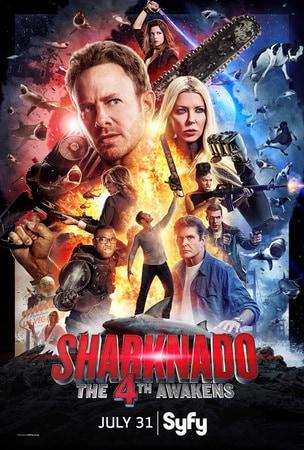 locandina di Sharknado 4