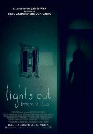 locandina di Lights Out: Terrore nel buio