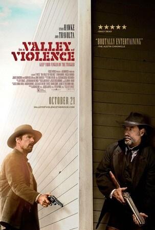 locandina di Nella valle della violenza
