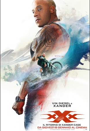 locandina di xXx: Il ritorno di Xander Cage