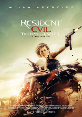 locandina di Resident Evil: The Final Chapter