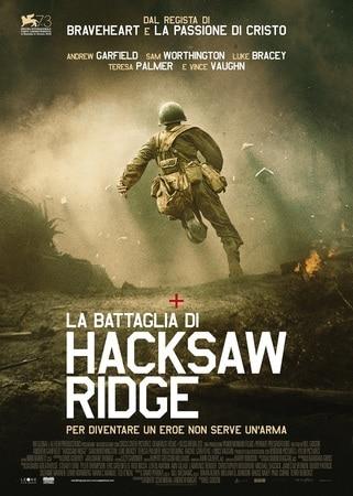 locandina di La battaglia di Hacksaw Ridge