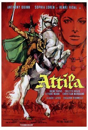 locandina di Attila