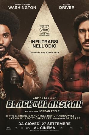 locandina di BlacKkKlansman