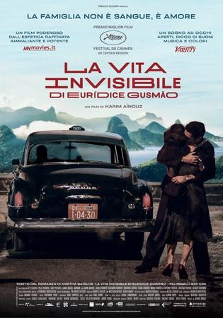 locandina di La vita invisibile di Euridice Gusmão