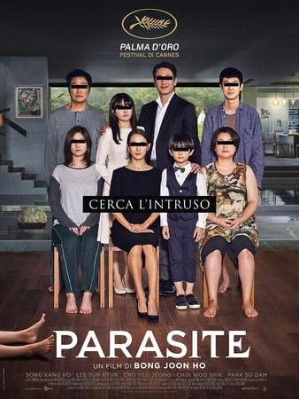 locandina di Parasite