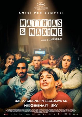locandina di Matthias & Maxime