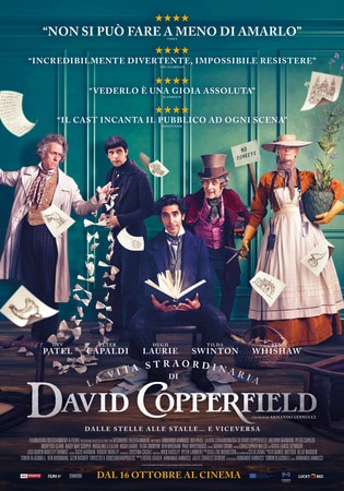 locandina di La vita straordinaria di David Copperfield