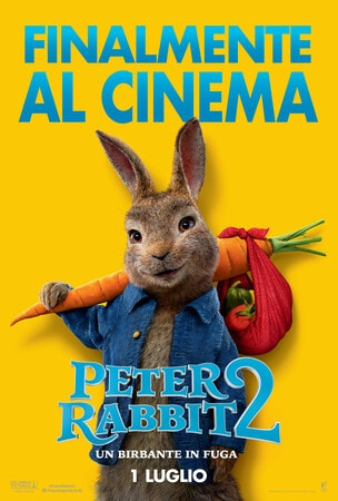locandina di Peter Rabbit 2: Un birbante in fuga