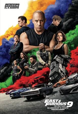 locandina di Fast & Furious 9 - The Fast Saga