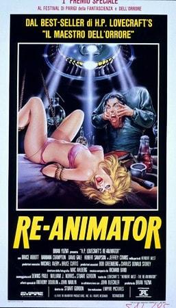 locandina di Re-Animator