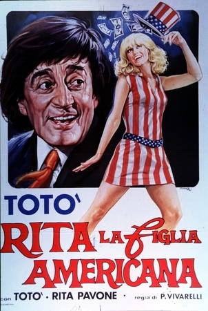 locandina di Rita, la figlia americana