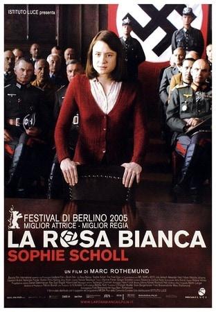 locandina di La rosa bianca. Sophie Scholl