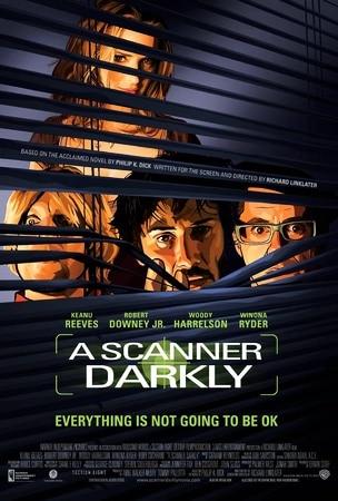 locandina di A Scanner Darkly. Un oscuro scrutare