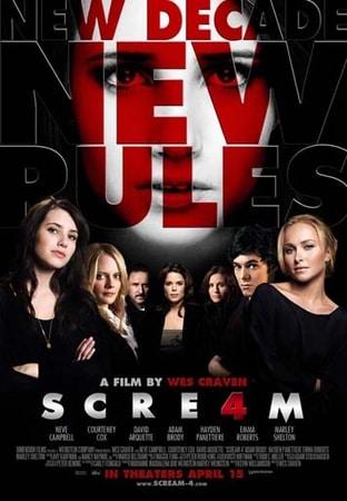 locandina di Scream 4