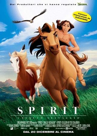 locandina di Spirit - Cavallo selvaggio