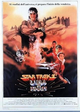 locandina di Star Trek II. L'ira di Khan