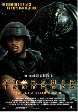 locandina di Starship Troopers. Fanteria dello spazio