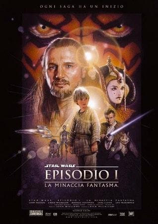 locandina di Star Wars: Episodio 1. La minaccia fantasma