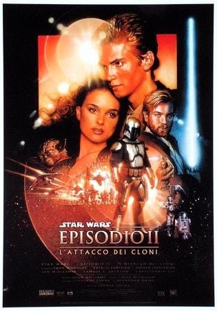 locandina di Star Wars - Episodio 2 - L'attacco dei cloni