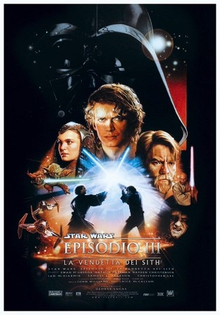 locandina di Star Wars - Episodio 3 - La vendetta dei Sith
