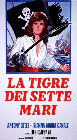 locandina di La tigre dei sette mari