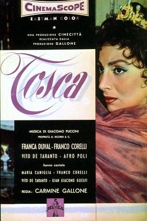 locandina di Tosca