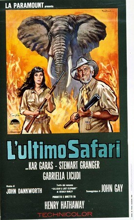 locandina di L'ultimo safari