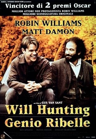locandina di Will Hunting. Genio ribelle