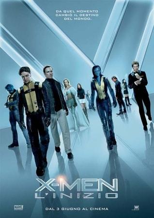 locandina di X-Men. L'inizio