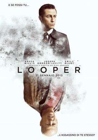 locandina di Looper - In fuga dal passato