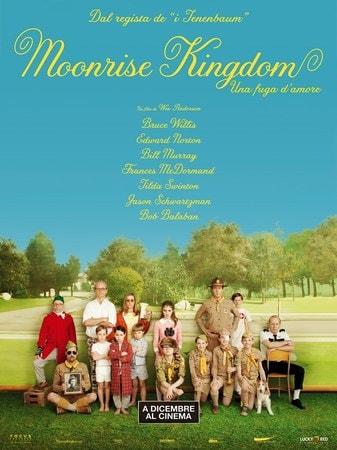locandina di Moonrise Kingdom - Una fuga d'amore