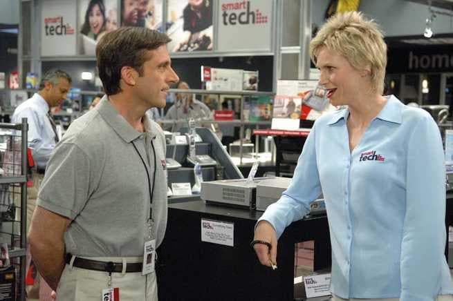 40 anni vergine: Steve Carell, Jane Lynch
