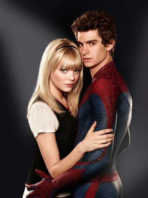 The Amazing Spider-Man: Emma Stone, Andrew Garfield