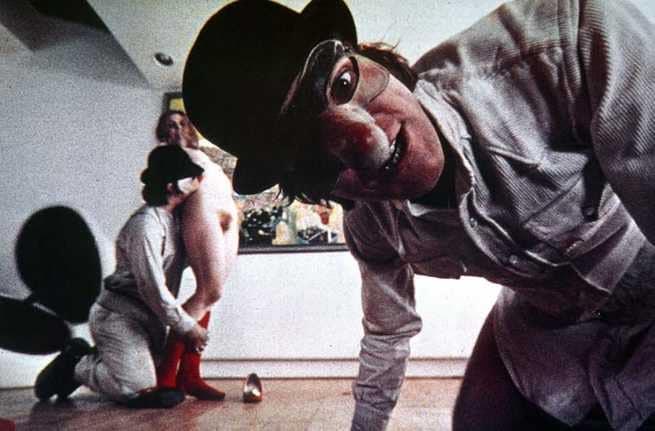 Adrienne Corri, Malcolm McDowell