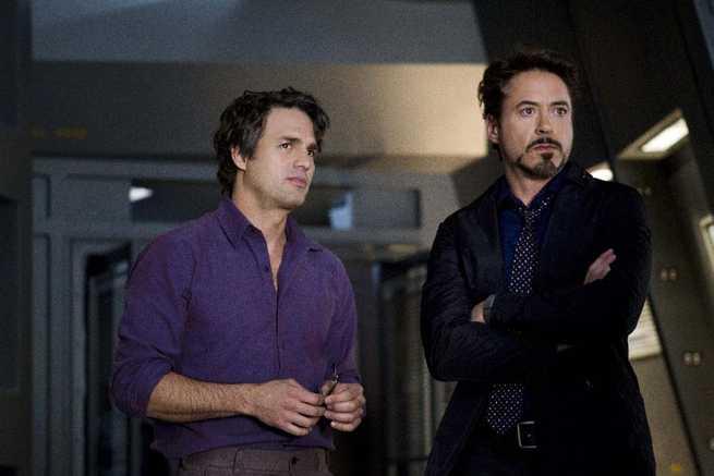 Mark Ruffalo, Robert Downey Jr.