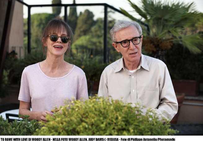 Judy Davis, Woody Allen
