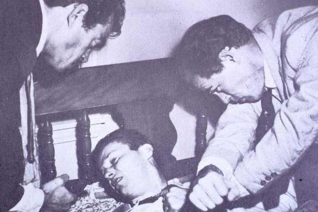 Jack Elam, Ralph Meeker