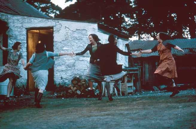 theme of love in dancing at lughnasa The play's theme of change first appears to be bleak and hopeless however, the mundy sisters' dancing to the radio's music symbolizes not only the difficulty of dealing with change, but also the beauty of the past, like when michael's unmarried parents chris and gerry dance in a gorgeous reminisce of their love.