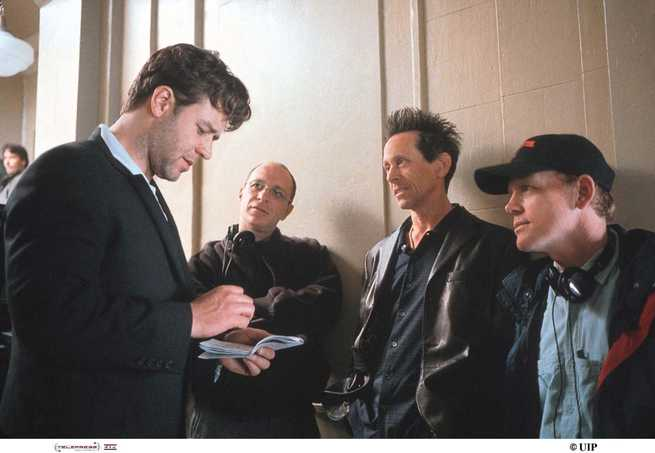 Russell Crowe, Brian Grazer, Ron Howard