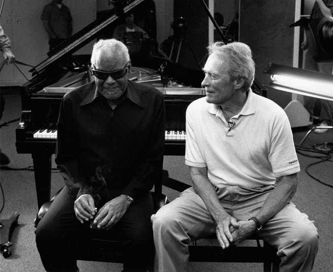 Ray Charles, Clint Eastwood
