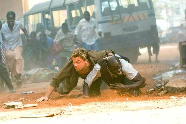 Leonardo DiCaprio, Djimon Hounsou