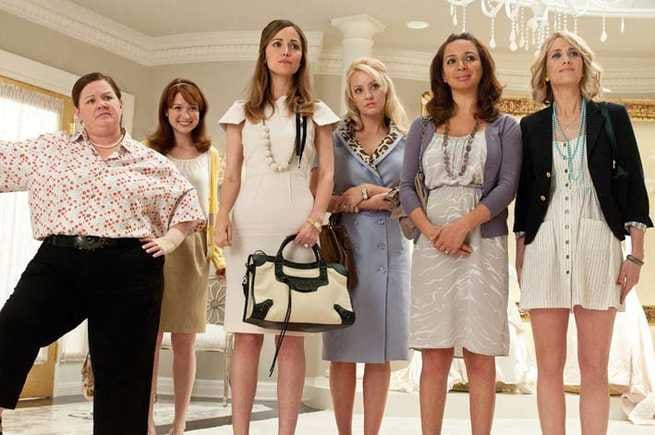 Melissa McCarthy, Ellie Kemper, Rose Byrne, Wendi McLendon-Covey, Maya Rudolph, Kristen Wiig