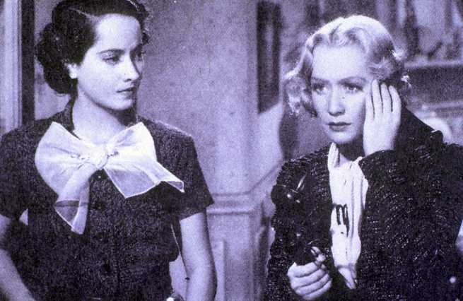 Merle Oberon, Miriam Hopkins