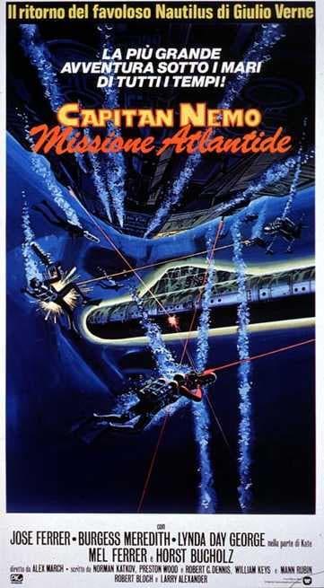 Risultati immagini per Capitano Nemo Missione Atlantide