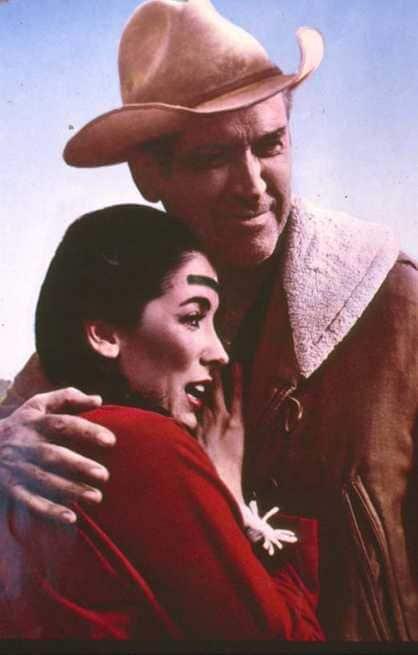 James Stewart, Linda Cristal