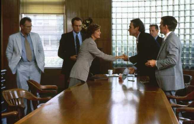 Susan Sarandon, J.T. Walsh, Bradley Whitford, Tommy Lee Jones