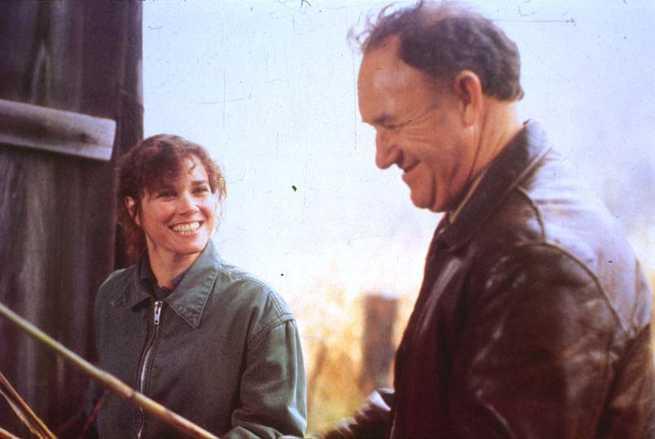 Barbara Hershey, Gene Hackman